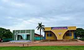 Sandolândia - Sandolândia-TO-Igreja e Salão Paroquial-Foto:Arolldo Costa