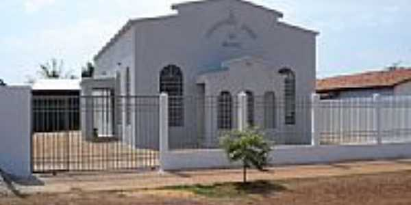 Igreja da CCB em Santa Maria do Tocantins-Foto:Lautenir
