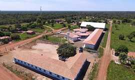 Santa Rita do Tocantins - Santa Rita do Tocantins-TO-Vista aérea da Escola rural Menino Jesus-Foto:santarita.to.gov.br