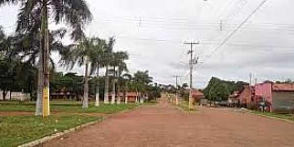Santa Rita do Tocantins-TO-Avenida de entrada-Foto:mapio.net