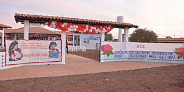 Santa Rita do Tocantins-TO-Inauguração da Escola rural Menino Jesus-Foto:santarita.to.gov.br