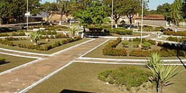 Santa Rosa do Tocantins-TO-Praça central-Foto:www.clebertoledo.com.br