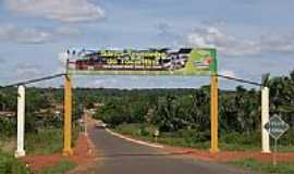 Santa Terezinha do Tocantins - Portal de entrada-Foto:Ludgero Neto