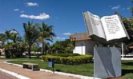São Félix do Tocantins - Praça da Bíblia em São Felix do Tocantins-TO-Foto:zelit