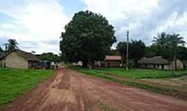 São Félix do Tocantins - Rua do Povoado Mansinha em São Felix do Tocantins-TO-Foto:Rafael Nogueira Garc...