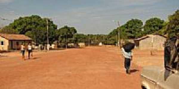 Centro do Povoado Mansinha em São Felix do Tocantins-TO-Foto:Dhiancarlos Pacheco