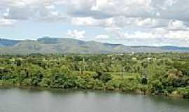 São Salvador do Tocantins - Rio Tocantins e cidade ao fundo-Foto:daniel barros pereir…