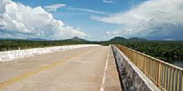 Ponte sobre o Rio Tocantins-Foto:daniel barros pereir…