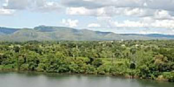 Rio Tocantins e cidade ao fundo-Foto:daniel barros pereir…