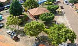 São Sebastião do Tocantins - Praça Stanislaw-Foto:DENISON PABLO DE SOU…