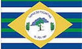 Taipas do Tocantins - Bandeira da cidade
