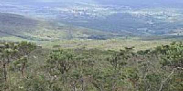 Vista de Santa Luzia do alto da Serra-BA-Foto:Marcelo Tchesco