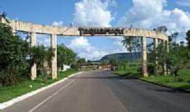 Taquarussu do Tocantins - Entrada da cidade Cosmerino Duarte