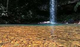 Taquarussu do Tocantins - Cachoeira da Sambaíba - Taquaruçu Foto: Antonio Rezende