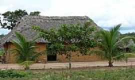 Tocantínia - Maloca tribo os Xerente Tocantinia por judivan Rodrigues