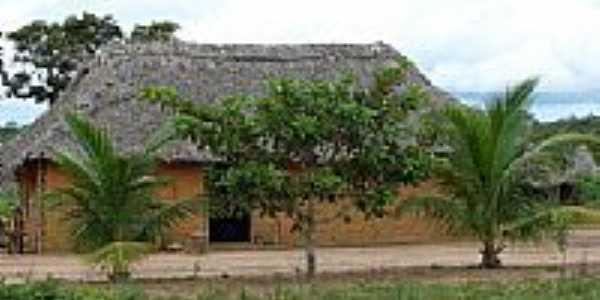 Maloca tribo os Xerente Tocantinia por judivan Rodrigues