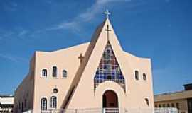 Santa Maria da Vit�ria - Santa Maria da Vit�ria-BA-Matriz de N.Sra.da Vit�ria-Foto:Vicente A. Queiroz