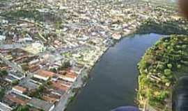 Santa Maria da Vit�ria - Santa Maria da Vit�ria-BA-Vista a�rea da cidade-Foto:Ronan C. Santos