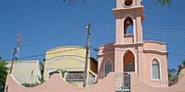 Santa Maria da Vit�ria-BA-Par�quia de N.Sra.das Gra�as-Foto:moemabarros