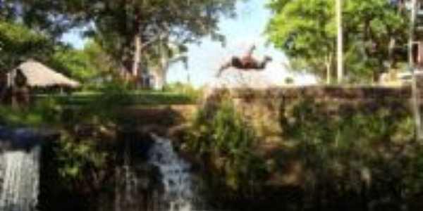 cachoieira - água viva, Por Allyne Wanderley