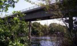 Santa Rita de C�ssia - ponte, Por ieda