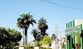 Santa Rita de Cássia - Praça e Prefeitura Municipal-Foto:eduardorocha