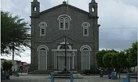 Santaluz - Santaluz-BA-Igreja de Santa Luzia construida em Granito-Foto:Marcio Carneiro