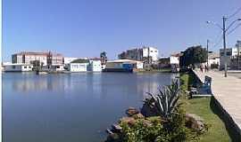 Santaluz - Santaluz-BA-Lago no centro da cidade-Foto:Marcio Carneiro