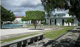 Santaluz - Santaluz-BA-Praça Major Benício Viana-Foto:Marcio Carneiro