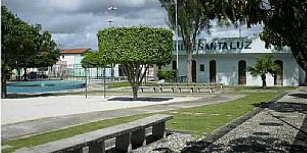 Santaluz-BA-Praça Major Benício Viana-Foto:Marcio Carneiro